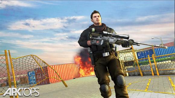 دانلود Frontline Combat Sniper Strike: Modern FPS hunter