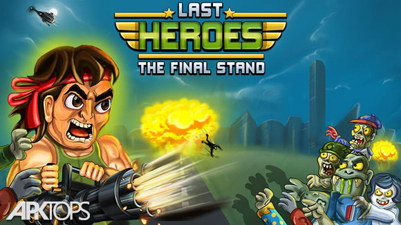 دانلود Last Heroes - Explosive Zombie Defense Shooting