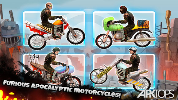 دانلود Mad Road: Apocalypse Moto Race