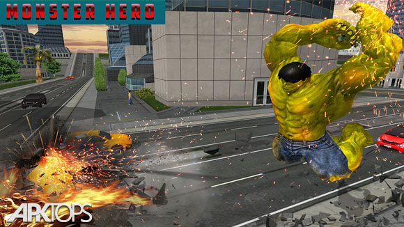 دانلود Monster Hero City Battle