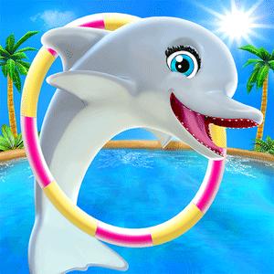 My Dolphin Show v4.23.1 دانلود بازی هنرنمایی دلفین من + مود اندروید