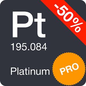 Periodic Table 2019 Pro v0.2.2 Patched دانلود برنامه جدول تناوبی شیمی اندروید