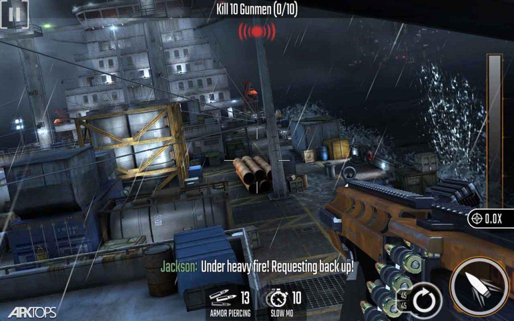 Sniper Strike – FPS 3D Shooting Game v3.909 دانلود بازی اعتصاب تک تیرانداز برای اندروید