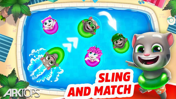 دانلود Talking Tom Pool