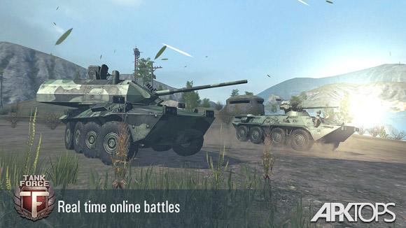 دانلود Tank Force: Real Tank War Online