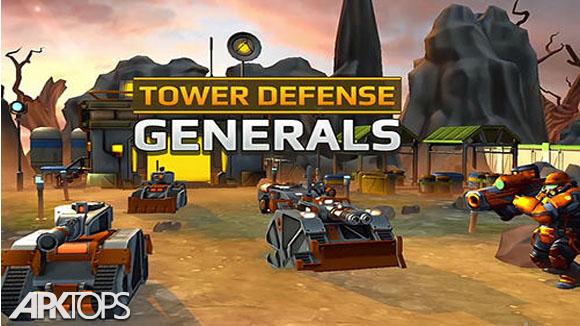 دانلود Tower Defense Generals TD