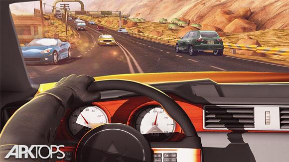 دانلود Traffic Xtreme 3D: Fast Car Racing & Highway Speed