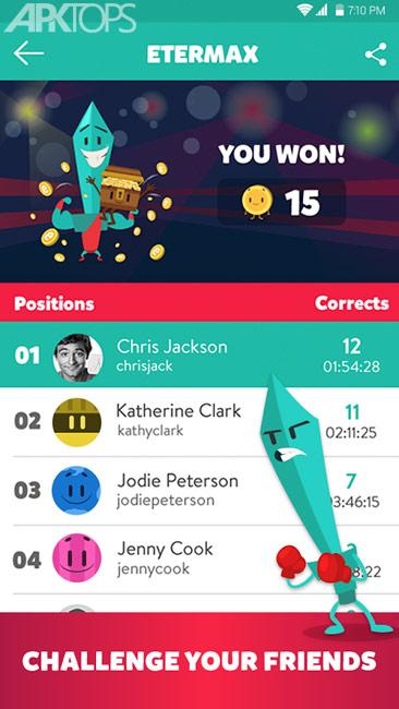 Trivia Crack Ad free v3.29.2 دانلود تریویا کرک بازی تست اطلاعات عمومی اندروید