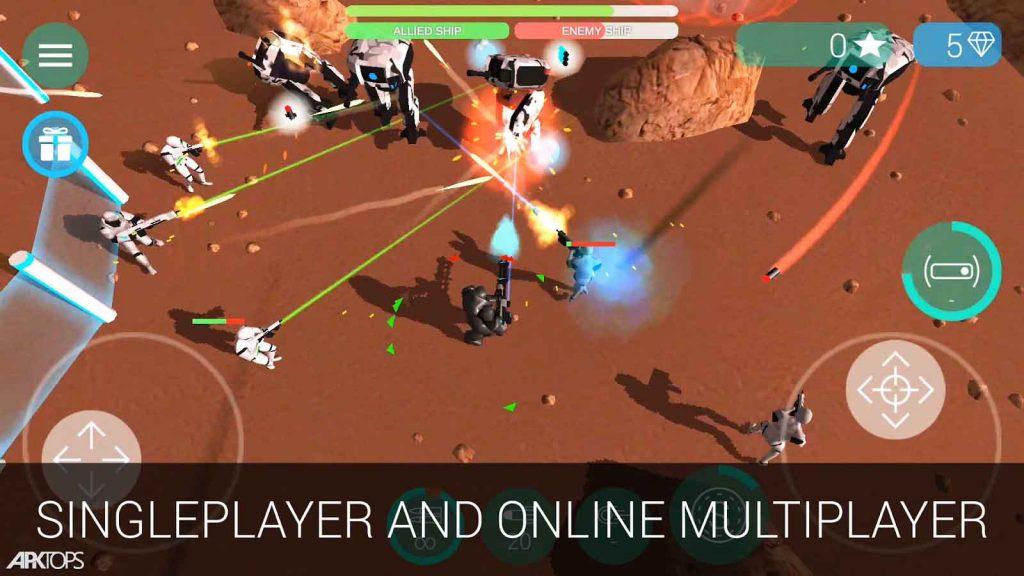 CyberSphere Online v1.79 دانلود بازی نبرد فضایی برای اندروید