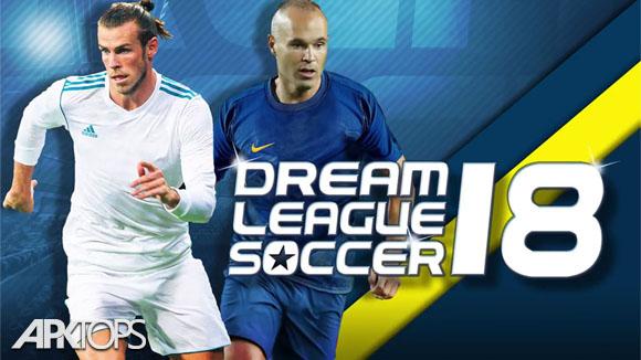 Dream League Soccer 2018 v5.04 دانلود بازی لیگ رویایی فوتبال 2018 اندروید
