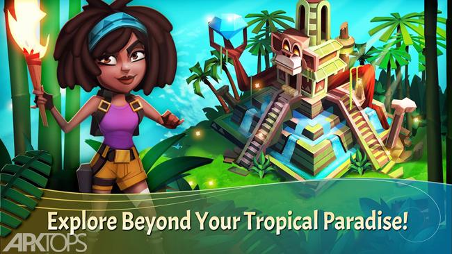 FarmVille: Tropic Escape v1.44.1664  دانلود بازی مزرعه ویلی: فرار تروپیک