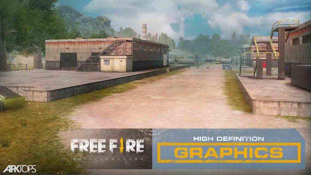 Garena Free Fire: Rampage v1.39.0 دانلود بازی آتش آزاد + مود اندروید