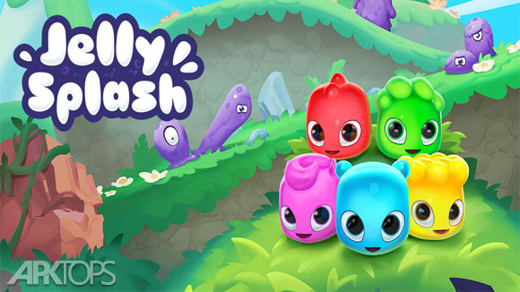 دانلود Jelly Splash - Line Match 3