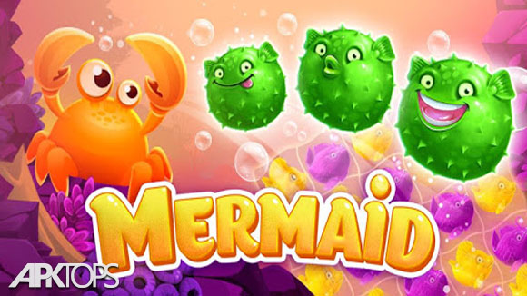 دانلود Mermaid - treasure match-3