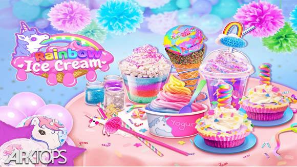 دانلود Rainbow Ice Cream - Unicorn Party Food Maker