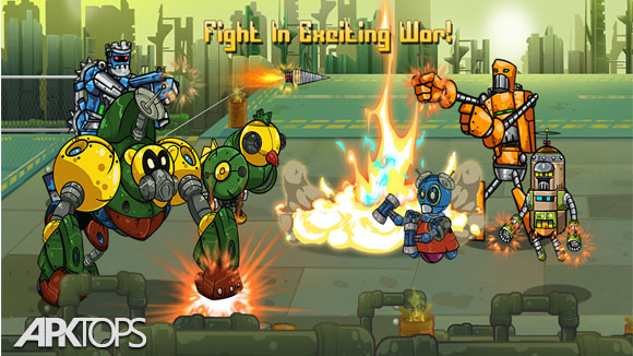 دانلود Robot Evolved : Clash Mobile
