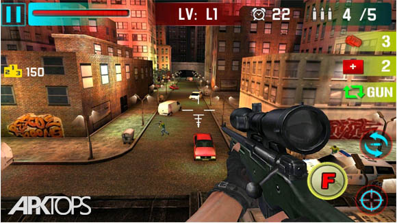 دانلود Sniper Shoot War 3D