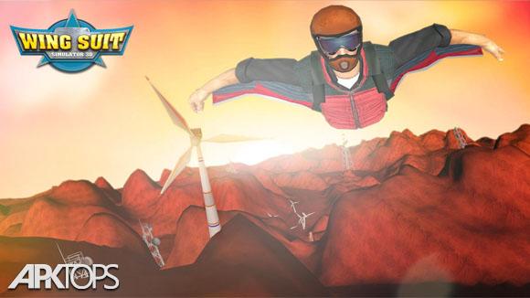 دانلود WingSuit Simulator 3D