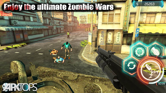 دانلود Zombie Invasion:Dead City HD