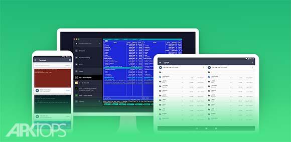 Termius – SSH and Telnet Client v2.6.30 دانلود برنامه تلنت
