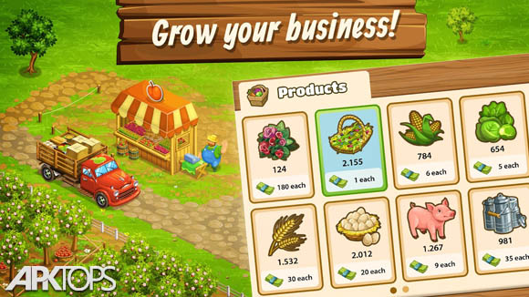 دانلود Big Farm: Mobile Harvest