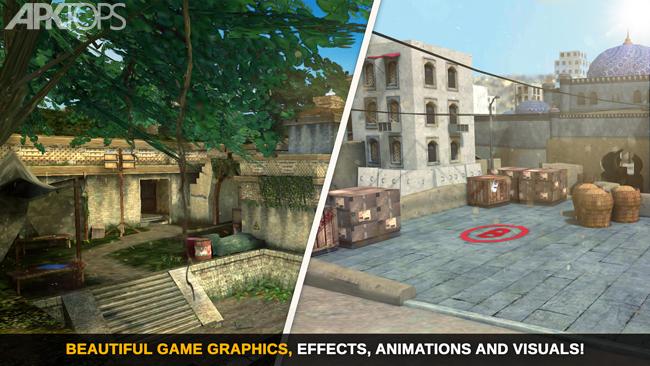 Counter Attack Team 3D Shooter v1.2.17 دانلود بازی ماموریت های ویژه تیراندازی + مود اندروید