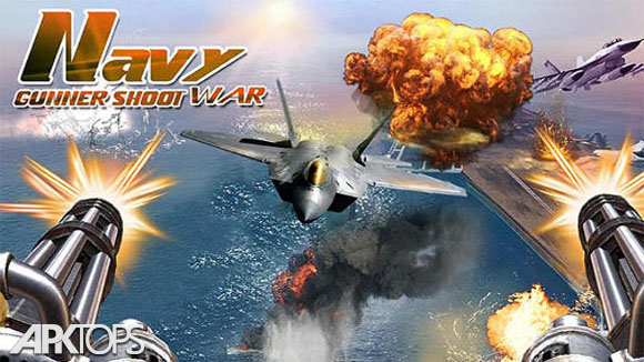 دانلود Navy Gunner Shoot War 3D