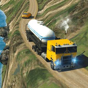 Oil Tanker Truck Simulator: Hill Climb Driving v1.1 دانلود بازی شبیه سازی کامیون برای اندروید