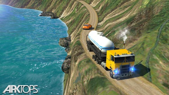 دانلود Oil Tanker Truck Simulator: Hill Climb Driving