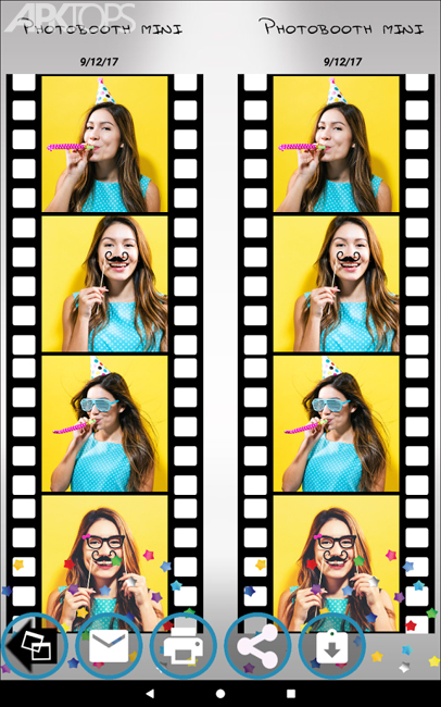 Photobooth mini FULL v54 دانلود برنامه ساخت تصاویر و گیف های خنده دار برای اندروید