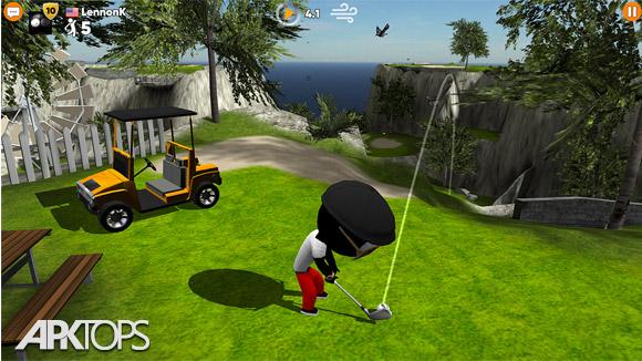 دانلود Stickman Cross Golf Battle