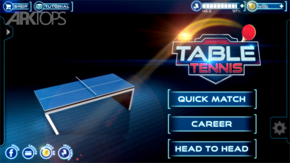 دانلود Table Tennis 3D Live Ping Pong