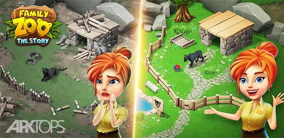 Family Zoo: The Story v1.2.6 دانلود بازی باغ وحش خانوادگی