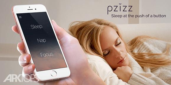 Pzizz Sleep Nap Focus دانلود برنامه پخش موسیقی آرامش بخش هنگام خواب اندروید