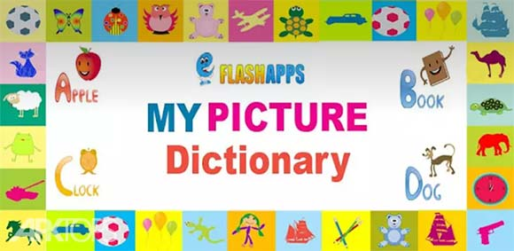 Kids Picture Dictionary v1.5 دانلود کیدز پیکچر دیکشنری لغت نامه تصویری کودکان اندروید