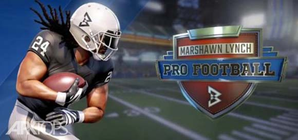 Marshawn Lynch Pro Football دانلود بازی فوتبال آمریکایی برای اندروید