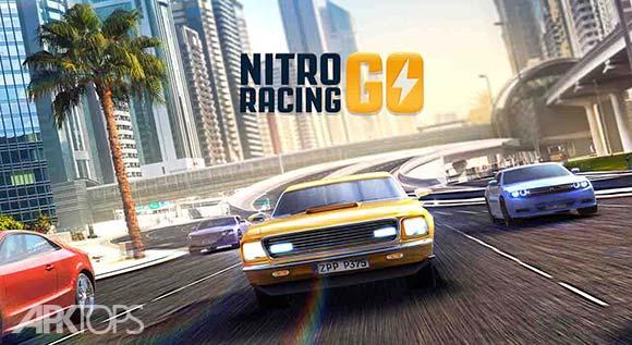 Nitro Racing GO دانلود بازی مسابقه ی نیترو برای اندروید