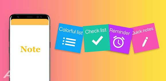 Notes Notepad with password Reminders & To-Do دانلود دفترچه یادداشت همه کاره اندروید