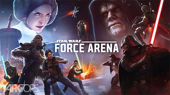 Star Wars Force Arena دانلود بازی آنلاین جنگ ستارگان نیروی آرنا برای اندروید