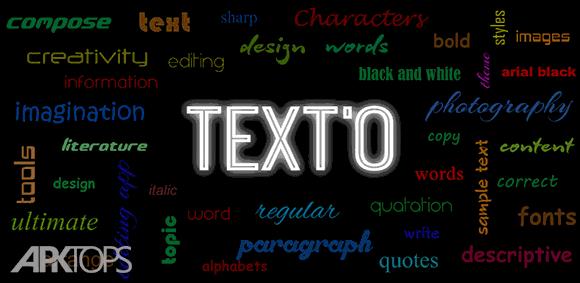 TextO Pro Write on Photos دانلود تکستو پرو برنامه نوشتن متن بر روی تصاویر اندروید