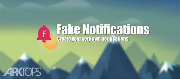 Fake Notifications دانلود فیک نوتیفیکیشن برنامه ساخت اطلاع رسانی جعلی اندروید