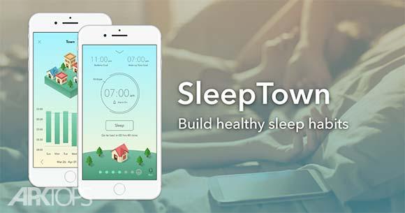 SleepTown دانلود اسلیپ تون برنامه مدیریت خواب اندروید