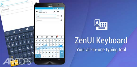 ASUS ZenUI Keyboard دانلود صفحه کلید رسمی ایسوس اندروید