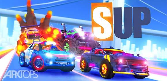 SUP Multiplayer Racing v1.5.7 دانلود بازی ماشین سواری چند نفره