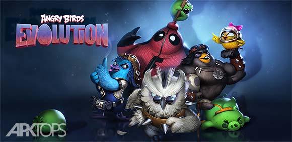 Angry Birds Evolution v1.15.1 دانلود بازی پرندگان خشمگین اوولوشن