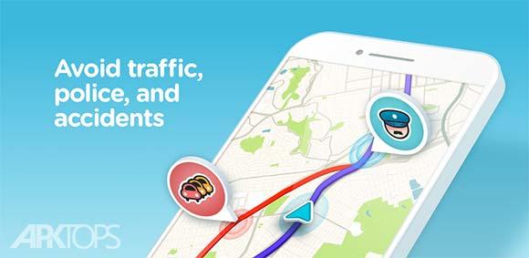 Waze GPS Navigation v4.35.0.19 دانلود ویز