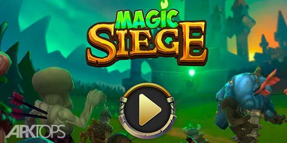 Magic Siege Defender دانلود بازی سحر و جادو برای اندروید