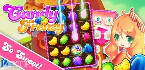 Candy Frenzy Pro دانلود بازی ابنبات هیجان آور برای اندروید