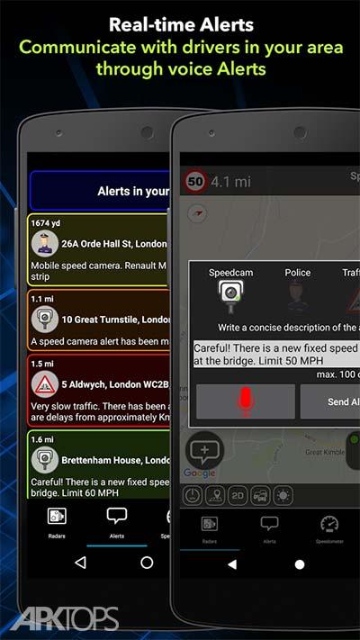 Speed Camera Detector v6.3.4 دانلود برنامه نمایش دوربین های کنترل سرعت اندروید