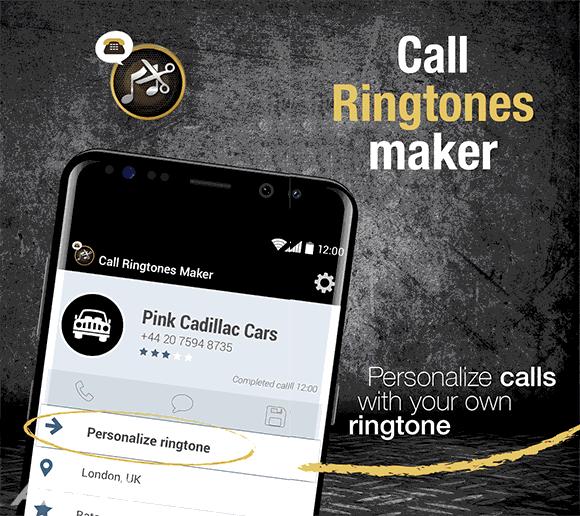 Call Ringtones Maker دانلود برنامه کال رینگتون میکر برنامه ساخت آهنگ زنگ اندروید